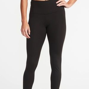 Old Navy Size L Mid-Rise Active Athletic Legging